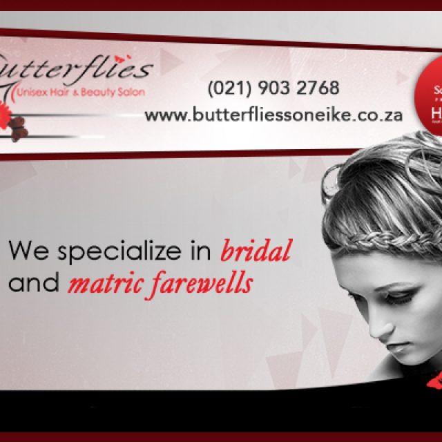Butterflies – Unisex Hair & Beauty Salon
