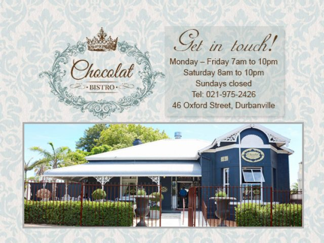 Chocolat Cafe and Decor
