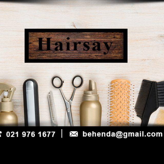 Hairsay