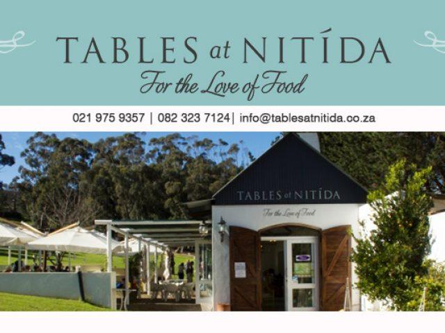 Tables at Nitida